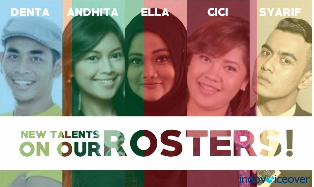 Para peserta audisi Indovoiceover Voice Hunt 2017 yang sudah berhasil lulus pada bulan Januari.